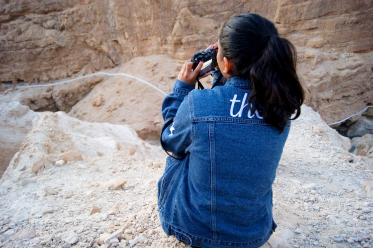 Rashika Overlooking Dead SeaEDITED